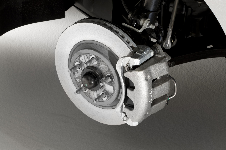 Демонтаж тормозного диска Daewoo Matiz 2