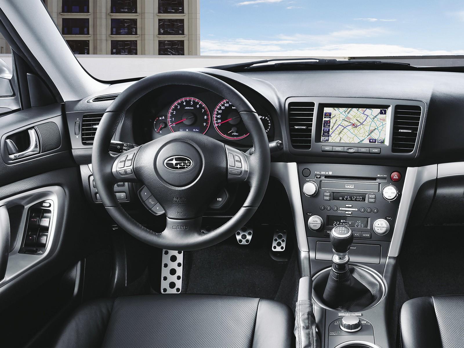 Subaru Legacy III – описание модели