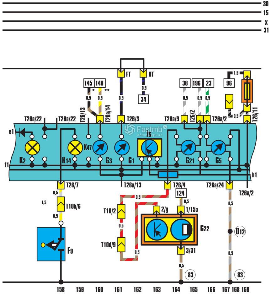 Регулировка датчика уровня топлива на Audi 100 C4 фото