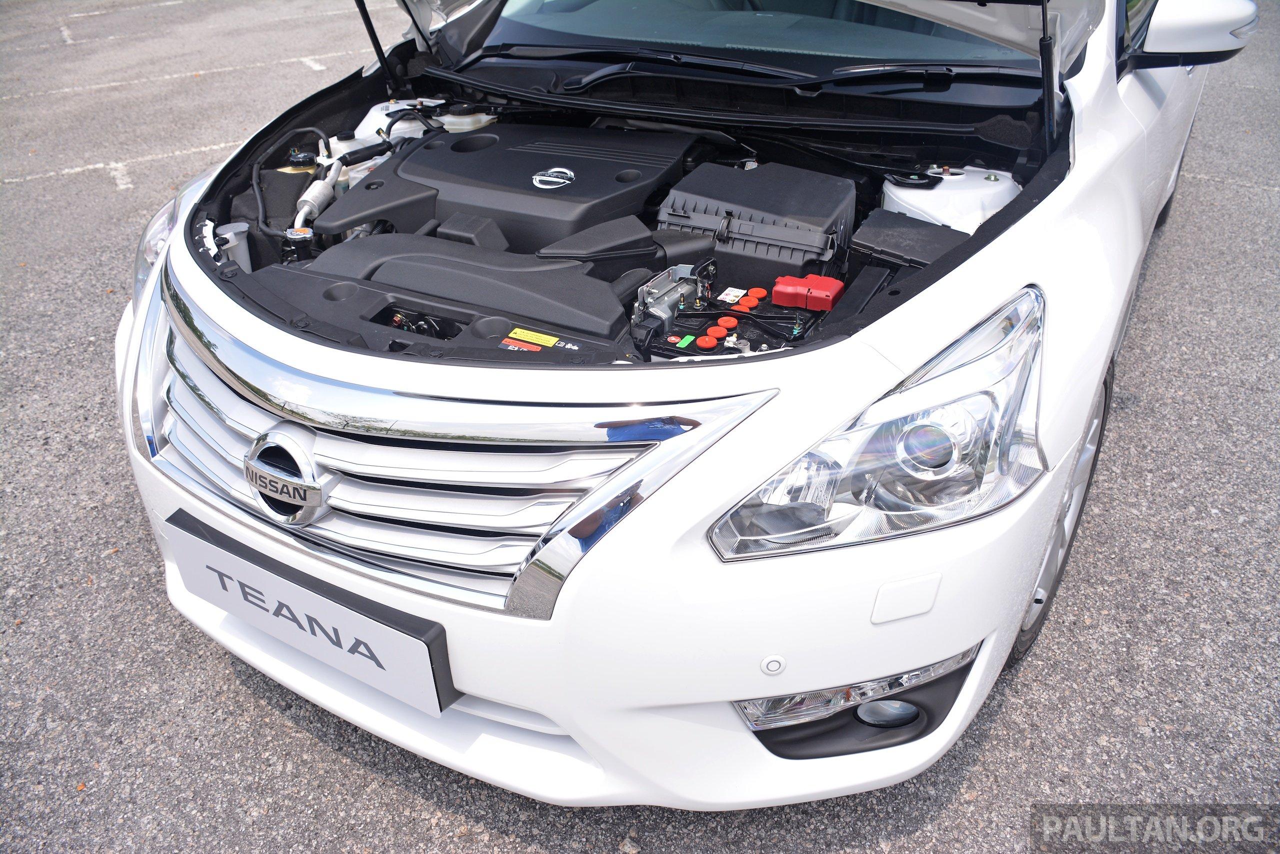 Мигание лампы неисправности двигателя в Nissan Teana