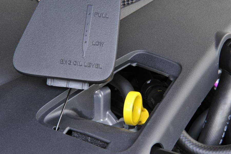 Проверка уровня масла на BMW 1-Series Е87