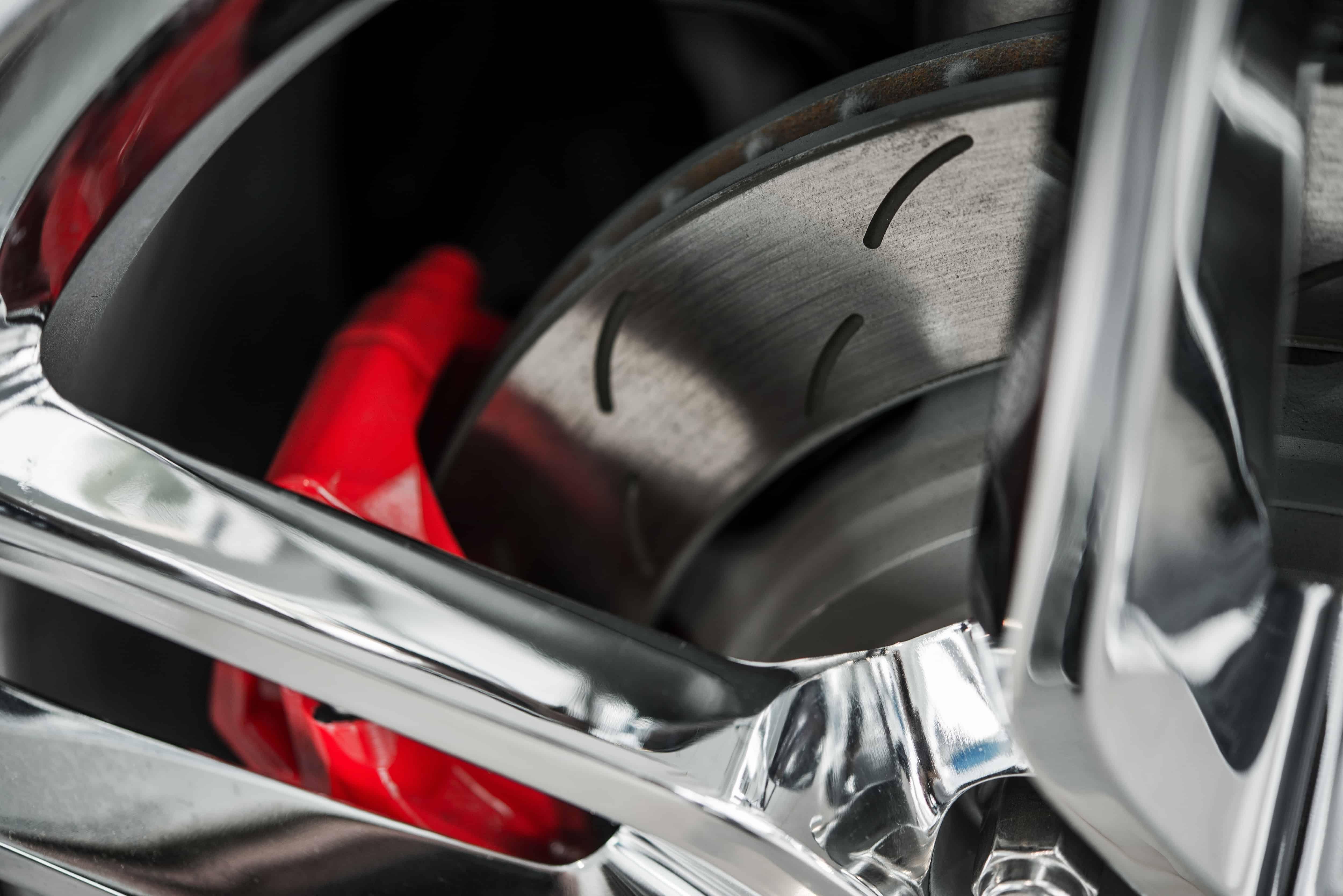 Покраска тормозных суппортов Mitsubishi Lancer X