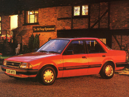 Ford Orion Mark I 1983-1986 седан 4