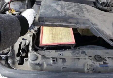 Замена воздушного фильтра на BMW 1-Series F20