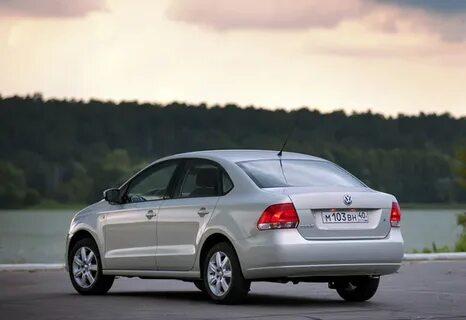 VW Polo Sedan тормозит рывками