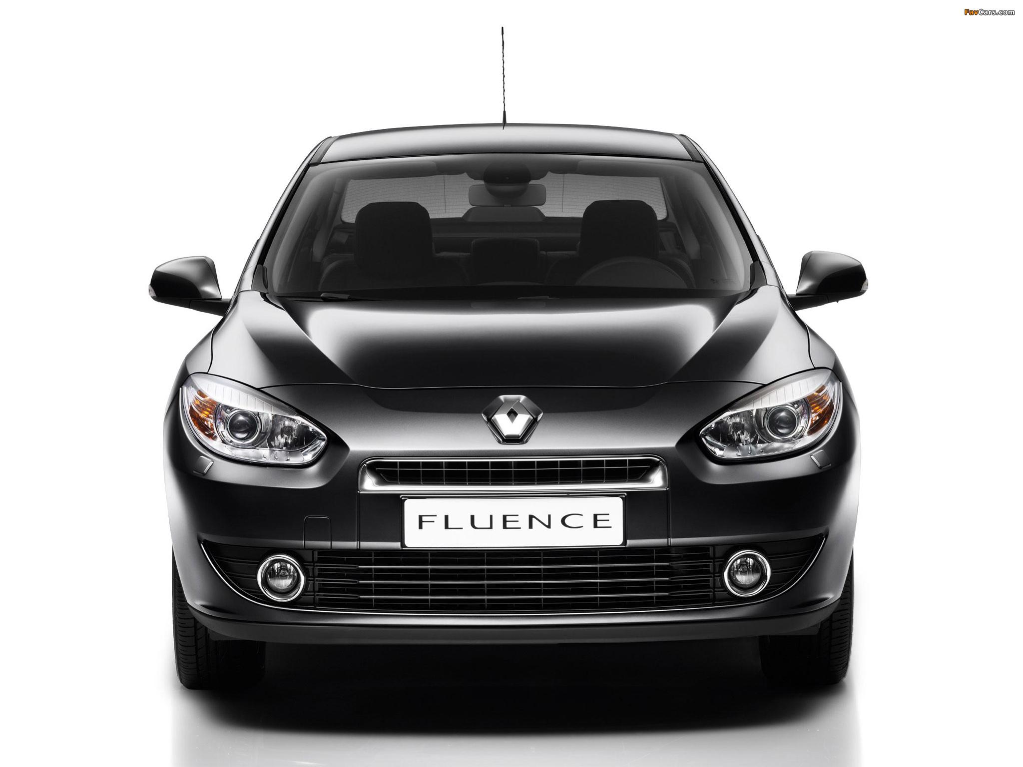 Дорожный просвет Renault Fluence