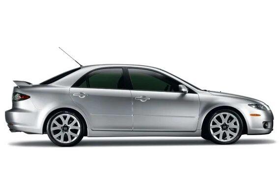 Скрежет в передней подвеске в мороз на Mazda 6 I