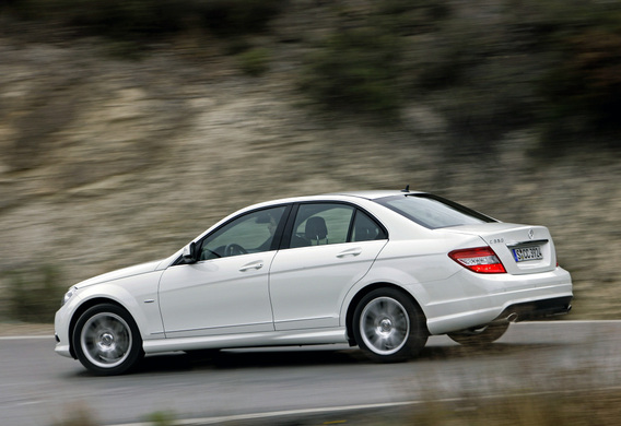 Разница между подвесками Mercedes-Benz C-Klasse (W204) Agility Control и Advanced Agility