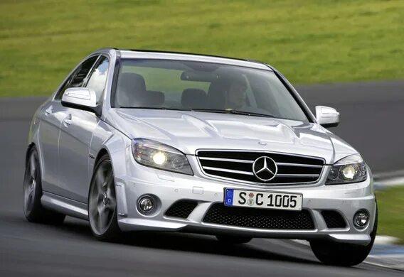 Особенности AMG пакета Mercedes-Benz C-Klasse (W204)