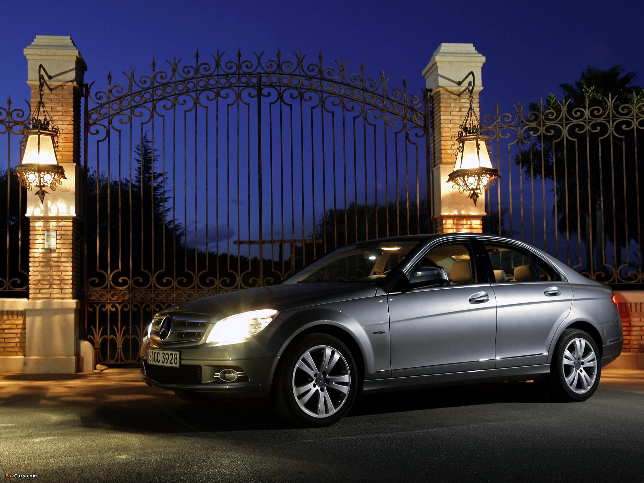 Mercedes-Benz C-Klasse (W204) долго прогревается зимой