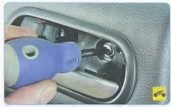 Демонтаж обивки задней двери на Mazda 6 II