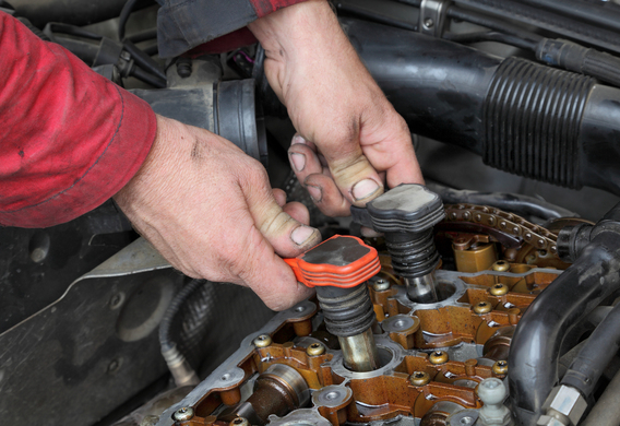 Демонтаж катушек зажигания на Mazda 6 II