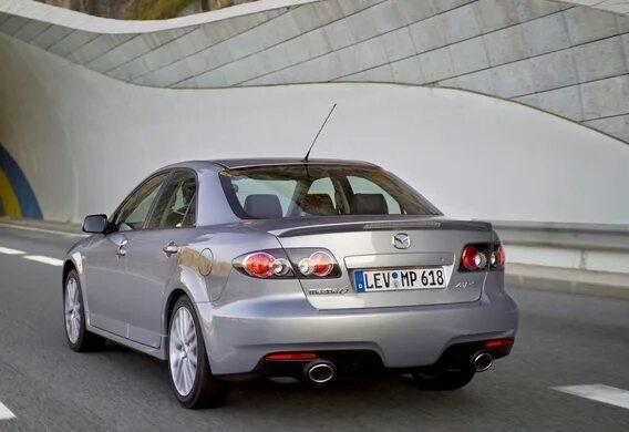Модернизация подвески Mazda 6 I MPS