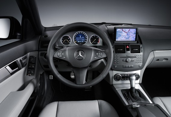 Настройка круиз-контроля на Mercedes-Benz C-Klasse (W204)