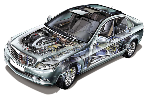 Замена переднего сальника коленвала на Mercedes-Benz C-Klasse (W204) с мотором 1,8 л