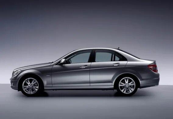 Особенности буксировки прицепа на Mercedes-Benz C-Klasse (W204)