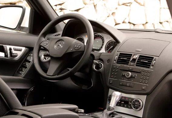 Предупредительные сообщения на дисплее Mercedes-Benz C-Klasse (W204)