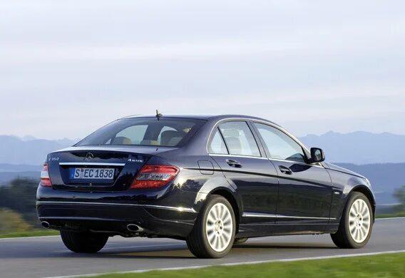 Как установить ограничение угла открытия багажника на универсале Mercedes-Benz C-Klasse (W204)?