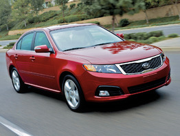 Kia Optima II поколение рестайлинг 2008-2010 седан 4