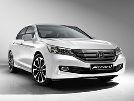 Honda Accord IX поколение рестайлинг 2014-2015 седан 4