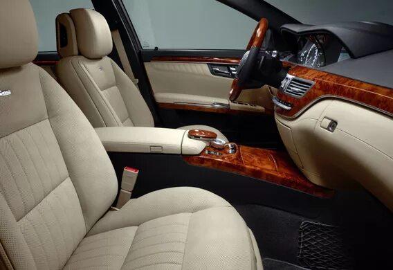 Установка комфортной подсветки на Mercedes-Benz S-klasse (W221)