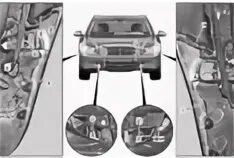 Снятие переднего бампера Mercedes-Benz S-klasse (W221)