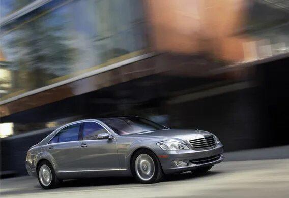 Изменение установки центрального замка на Mercedes-Benz S-klasse (W221)