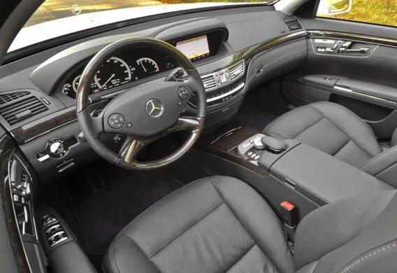 Регулировка мультиконтурного сиденья на Mercedes-Benz S-klasse (W221)