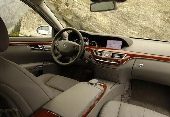 Особенности использования на Mercedes-Benz S-klasse (W221) системы Splitview