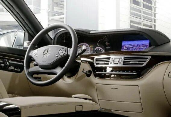 Опции маршрутов в навигационной системе Mercedes-Benz S-klasse (W221)