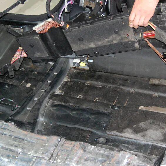 Полная шумоизоляция Mercedes-Benz S-klasse (W221) фото