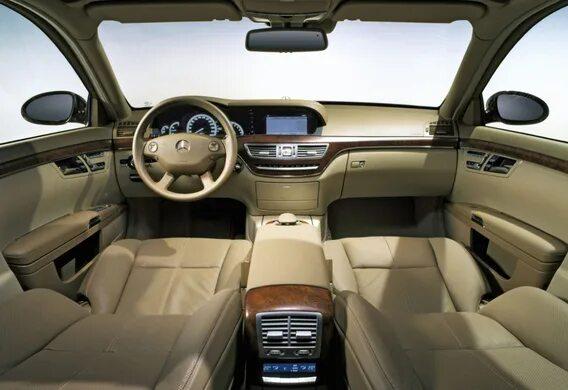 Особенности работы климатической установки в задней части салона Mercedes-Benz S-klasse (W221)
