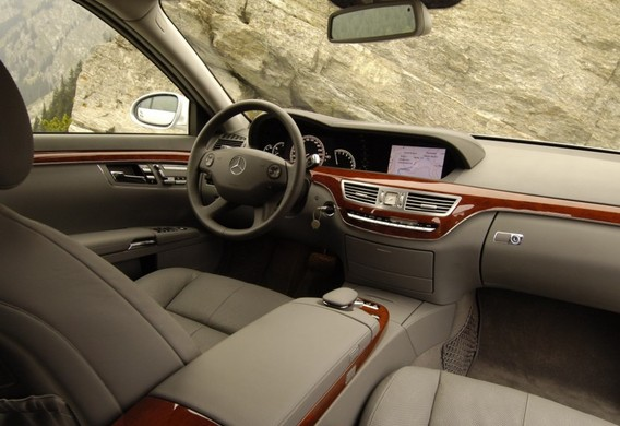 Считывание кода работ для СТО на Mercedes-Benz S-klasse (W221)