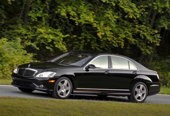 Распространенные проблемы с подвеской Mercedes-Benz S-klasse (W221)