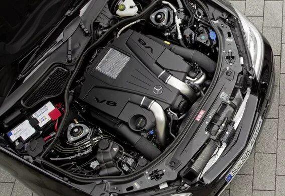 Замена центрифуги на Mercedes-Benz S-klasse (W221)