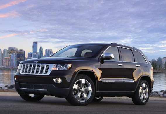 Отличия между комплектациями Limited и Overland Jeep Grand Cherokee WK2