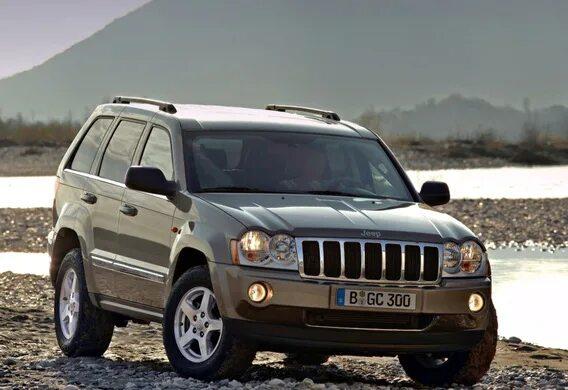Замена вискомуфты вентилятора на Jeep Grand Cherokee WK