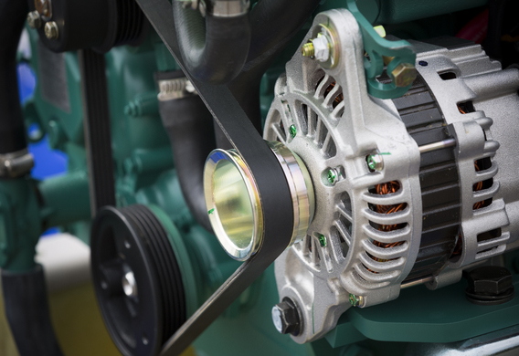 ford c-max генератор снять