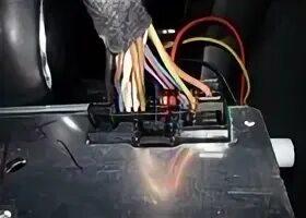 Штатный подрулевой джойстик Ford Focus I и нештатная магнитола