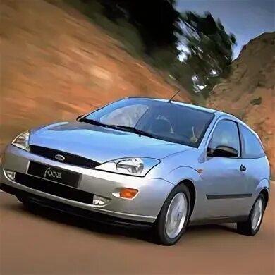 Демонтаж переднего бампера на Ford Focus I фото