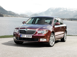 Skoda Superb II поколение 2008-2013 седан 5
