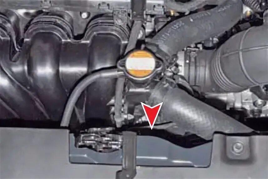 Где расположен номер двигателя Hyundai Solaris?