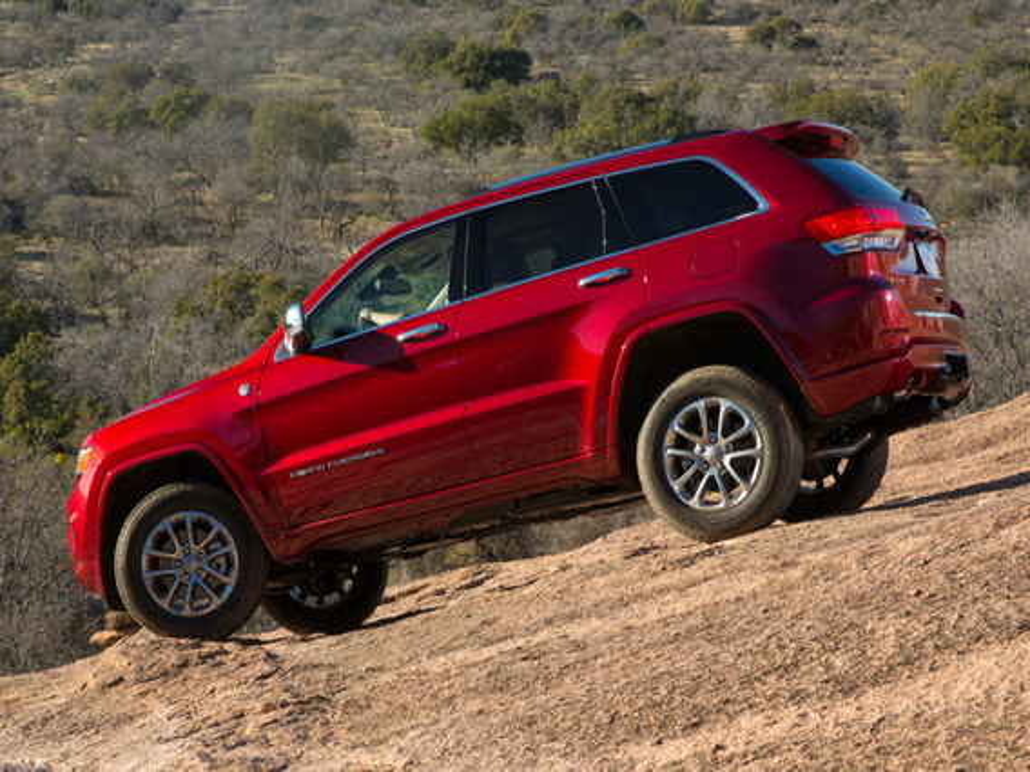 Режимы регулировки дорожного просвета на Jeep Grand Cherokee WK2