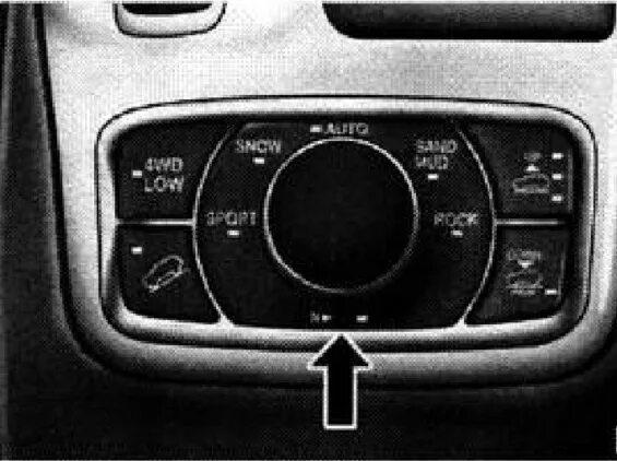 Как включить нейтральную передачу на раздаточной коробке Jeep Grand Cherokee WK2?