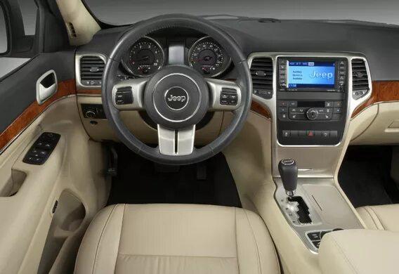 Функции системы помощи при ДТП на Jeep Grand Cherokee WK2