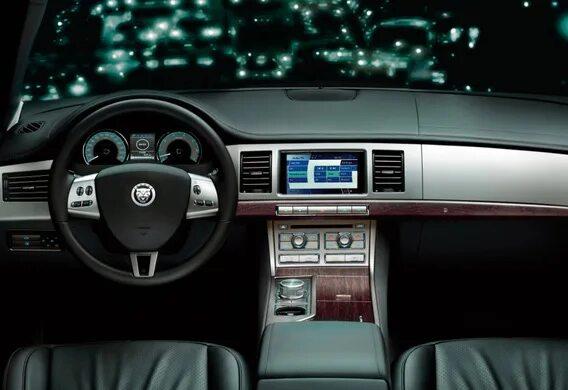 Как вернуться из ручного режима АКПП в автоматический на Jaguar XF?