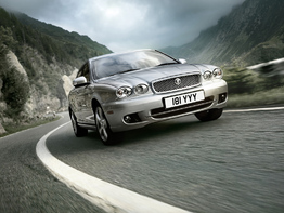 Jaguar X-Type I поколение рестайлинг 2008-2010 седан 4