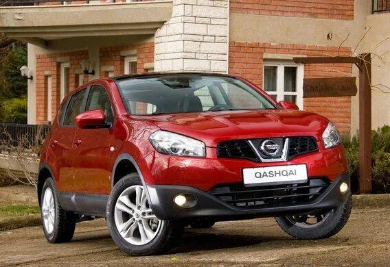 Рекомендуемые параметры шин и дисков для Nissan Qashqai II