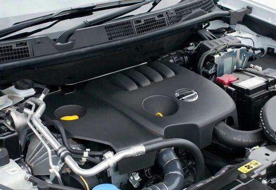 Какие двигатели устанавливаются на Nissan Qashqai II, продаваемых в России?