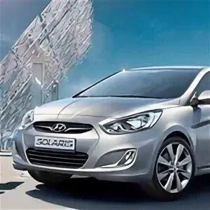 Hyundai Solaris уводит в сторону на прямой дороге фото